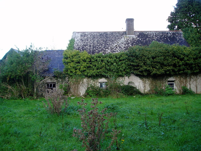 Derelict cottage at Neddans