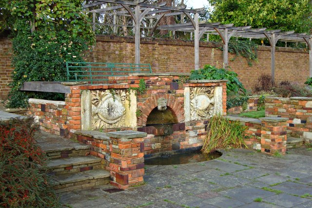The &quot;Fish&quot; Fountain, Walled Garden, Priory Park