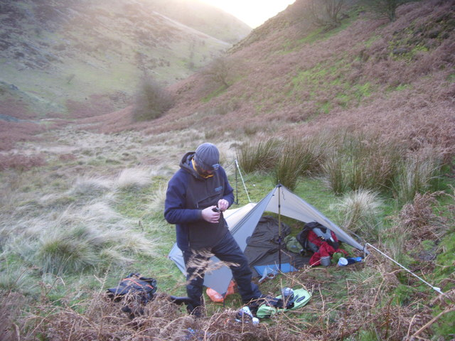Long Mynd Wild Camp