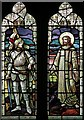 TQ3196 : St Mary Magdalene, Windmill Hill, Enfield - Stained glass window by John Salmon