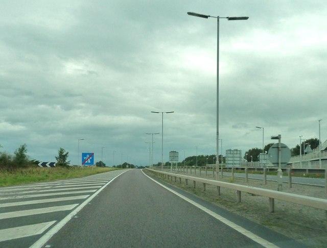 End of motorway regulations
