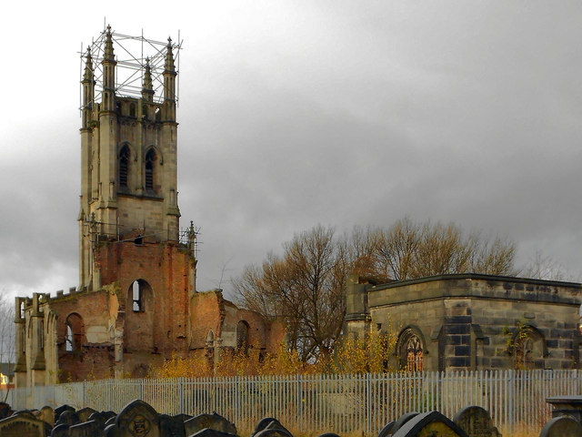 St Luke's Church Tower, Cheetham Hill
