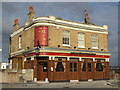 TQ3479 : The Angel, Bermondsey Wall East, SE16 by Mike Quinn