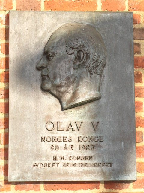 Plaque on St. Olav's Church, Albion Street, SE16