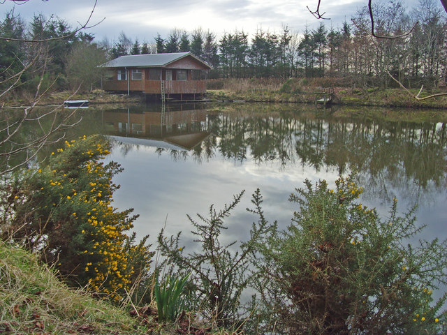 Pond at Mains of Cairnbrogie