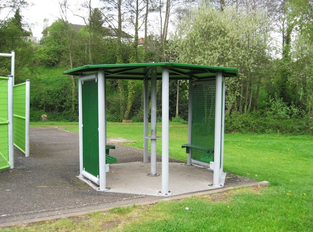 Shelter at Springfield Park, Kidderminster