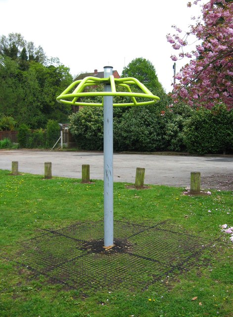 Exercise equipment at Springfield Park, Kidderminster