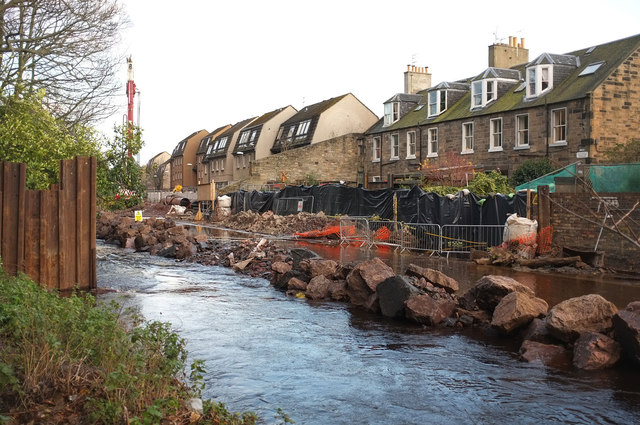 Flood prevention works