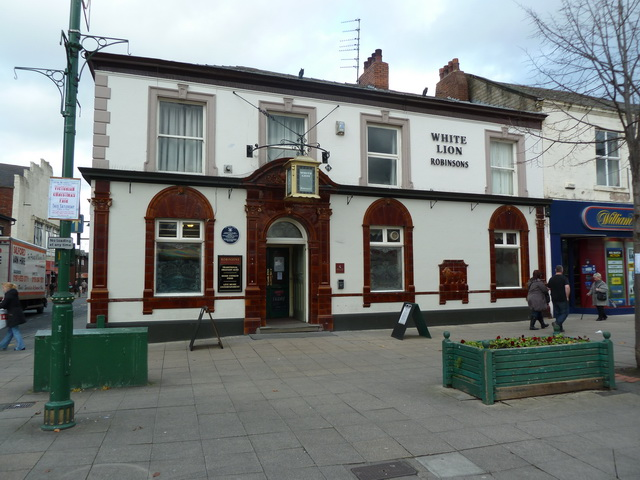 White Lion, Market Place, Hyde