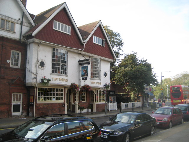 The Tabard Chiswick Rooms To Rent
