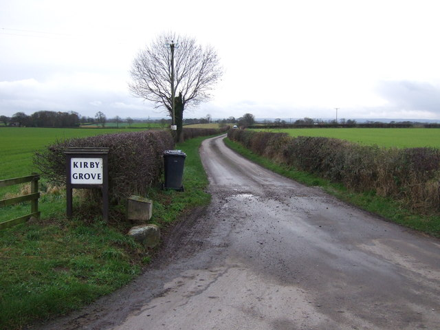 Track to Kirby Grove
