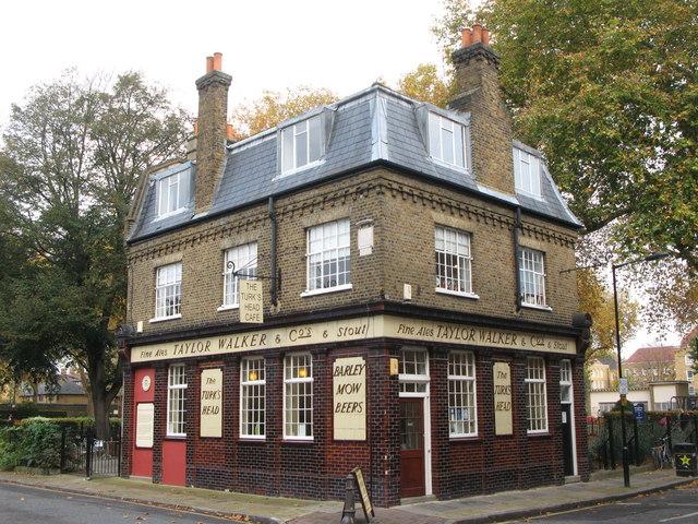 The Turk's Head Café, Tench Street / Green Bank, E1