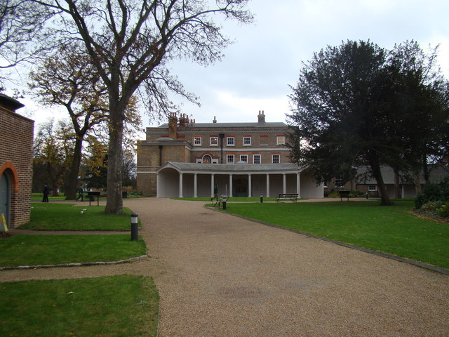 View of Valentine's Mansion