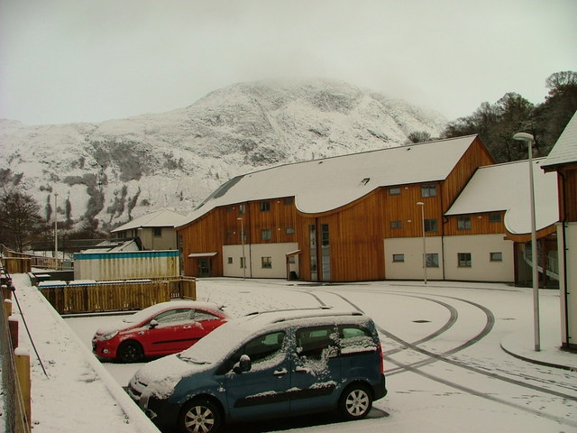 New housing on Claggan Road, Fort William