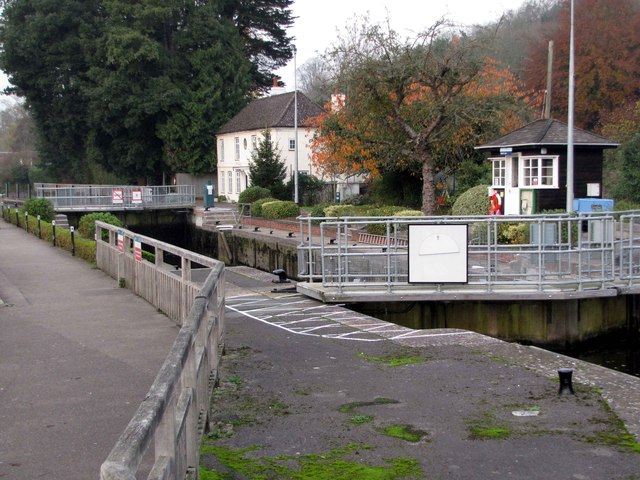 Marsh Lock,  Henley-on-Thames