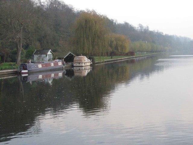 River Thames at Marsh Lock