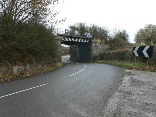 Railway bridge at Broomemarsh
