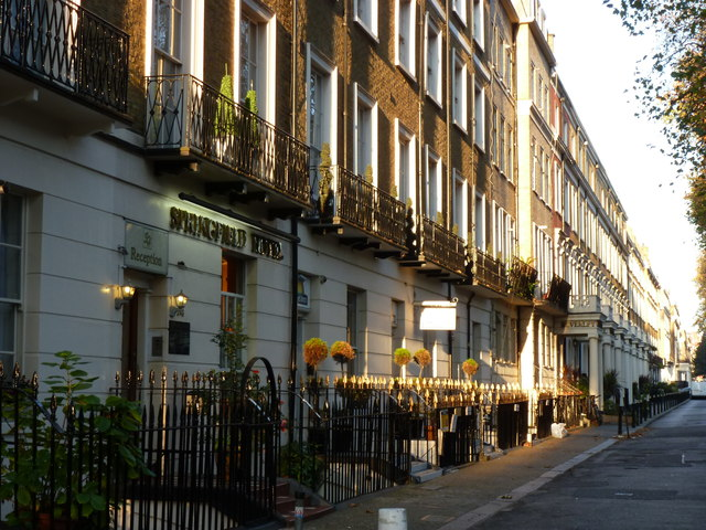 Hotels in Sussex Gardens
