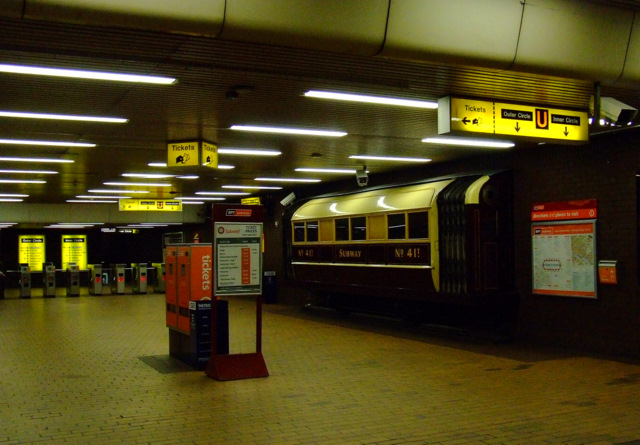 Buchanan Street subway station