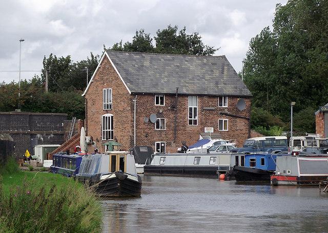 Wincham Wharf near Lostock Gralam, Cheshire