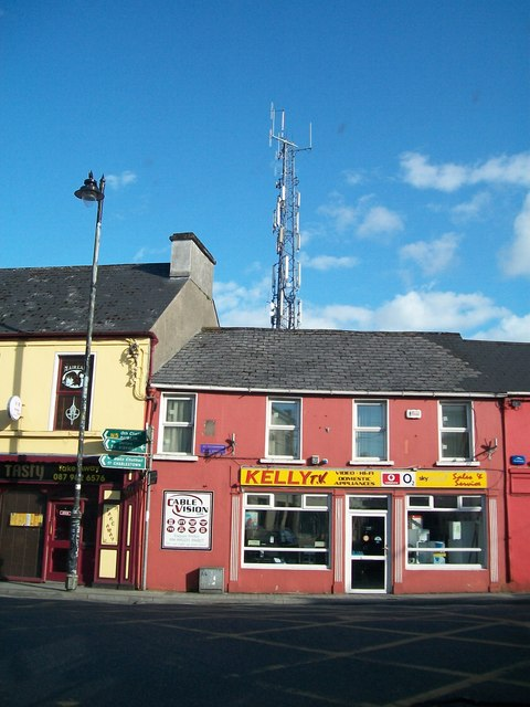Shops on Main Street, Ballaghaderreen