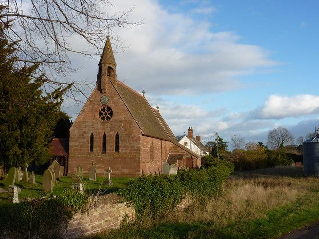 St Michael's Parish church, Waters Upton