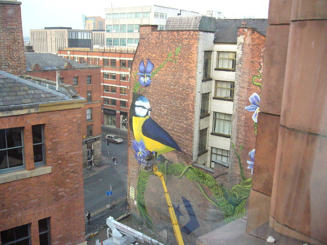 Street Art, Port Street and Newton Street, Manchester