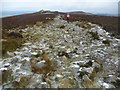 SO3698 : Path on Stiperstones approaching the Devil's Chair in December by Jeremy Bolwell