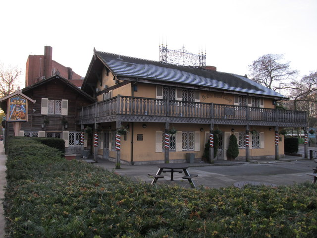 'Ye Olde Swiss Cottage' public house