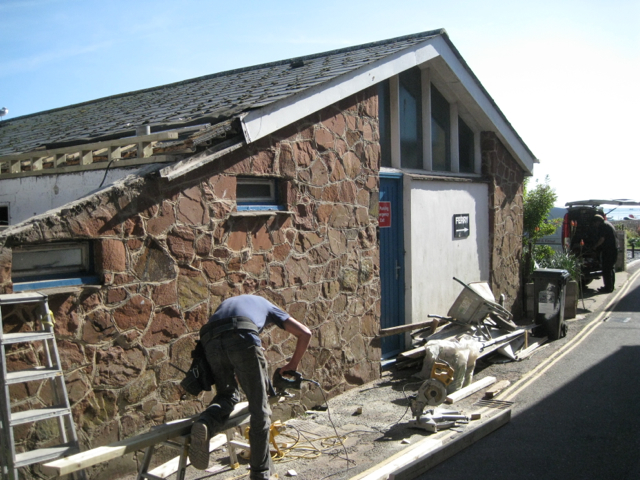 Teign Ferry boathouse, Riverside: 1
