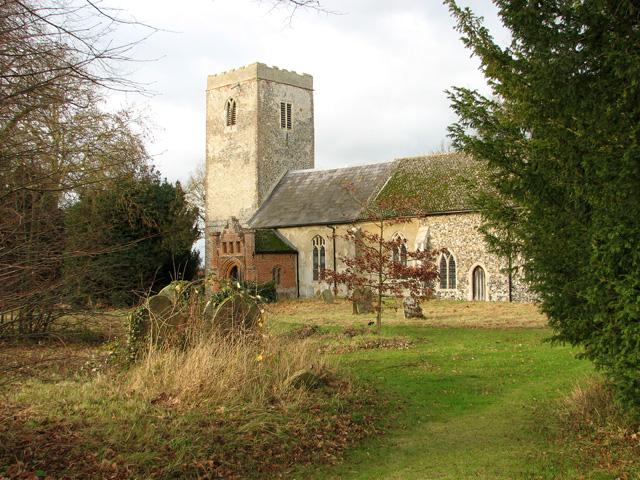 St Andrew's church in Winston