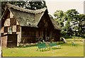 SK6274 : Cricket Pavilion Clumber Park by John Jennings