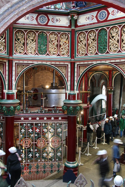 Crossness Pumping Station - the 'octagon'