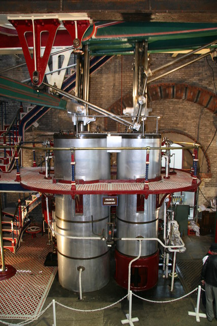 Crossness Pumping station - restored beam engine