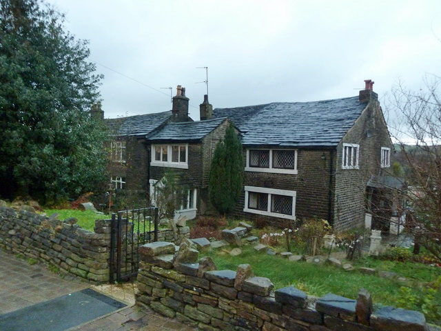 Stone houses off Knowls Lane
