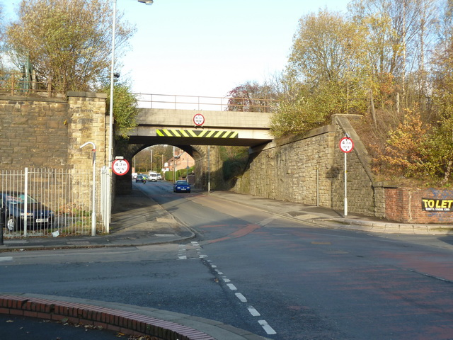 Railway bridge on Clarence Street, Stalybridge