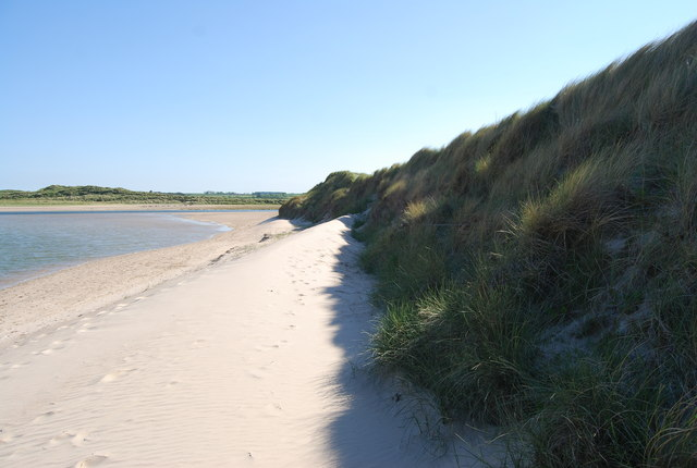 Embryo dune, Tughall Mill Links