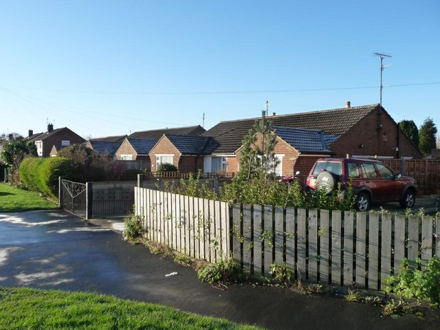 Six bungalows on Stoney Haggs Road