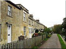 ST7766 : Canal Terrace, Bathampton by Rose and Trev Clough