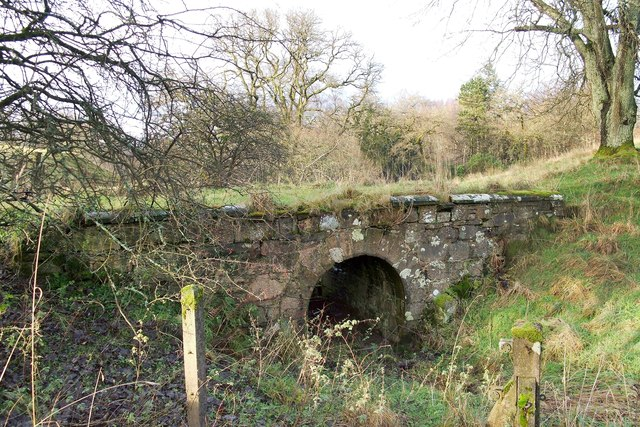 Old stone bridge near Overtoun House
