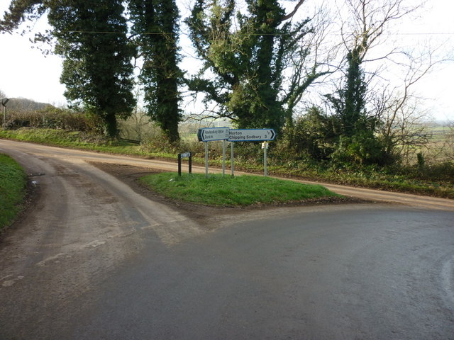 Hall Road at Newtyning Lane