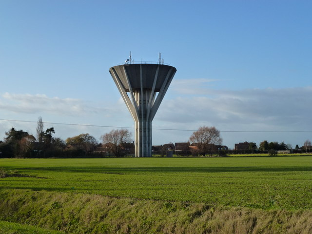 Gedney water tower, near Long Sutton