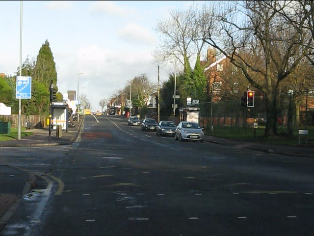 Howard Road traffic lights, Alcester Road (A435)