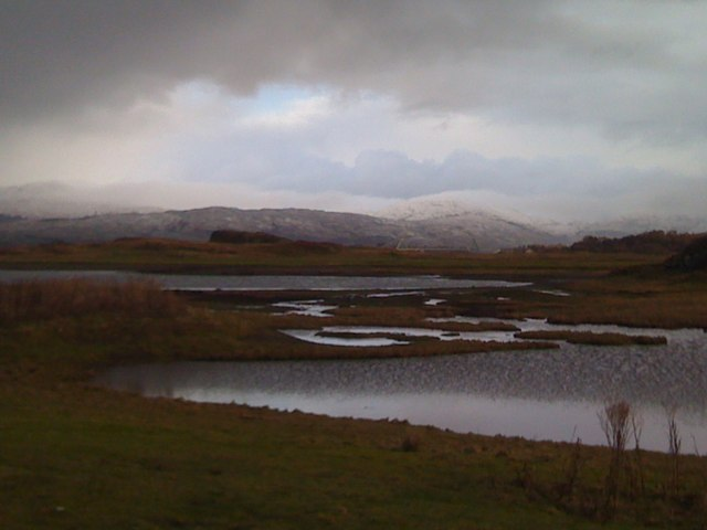 Wetlands near Dunstaffnage Bay