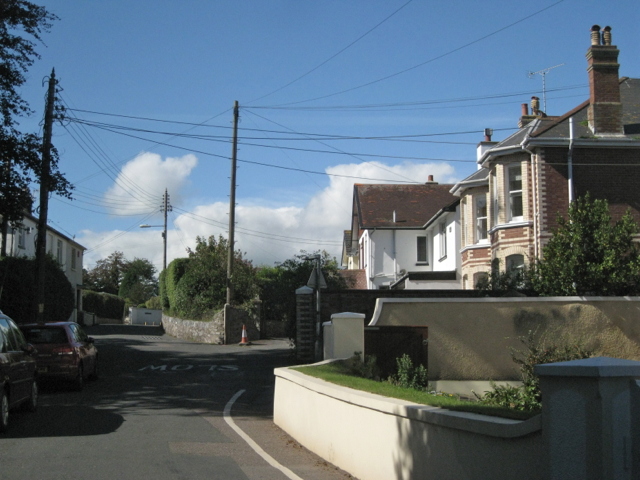 East end of Coombe Road, Ringmore