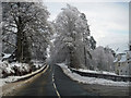 NH3001 : Invergarry in snow by Richard Dorrell