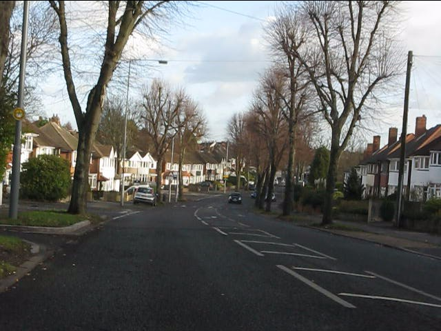 Garretts Green Lane at Jephson Drive