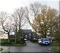 SD6604 : Langley Hall Farm by Anthony Parkes
