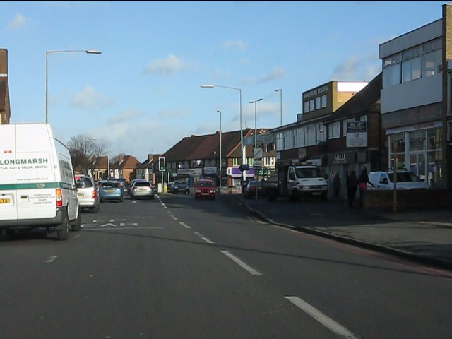Hobs Moat Road approaching Coventry Road (A45)