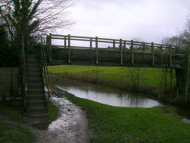 Footbridge over Peak Forest Canal